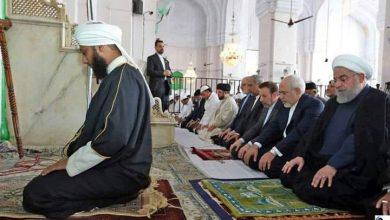 Photo of ایران کے صدر اور وزیر خارجہ نے ہندوستان کے حیدر آباد کے علاقے میں سب سے عظیم مدرسہ اہلسنت کی مسجد میں آپنی نماز جمعہ ادا کی