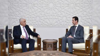 Photo of شامی صدر کے نام عراقی وزیر اعظم کا پیغام