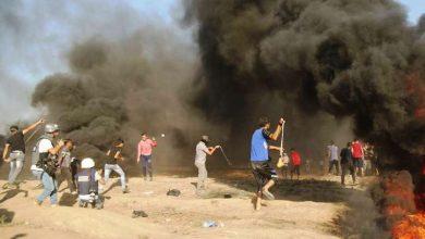 Photo of پرامن واپسی مارچ پر وحشیانہ حملہ 1 فلسطینی شہید، 48 زخمی