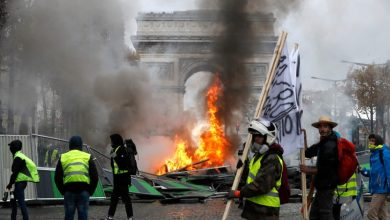 Photo of فرانس میں حکومت مخالف مظاہروں کا سلسلہ جاری