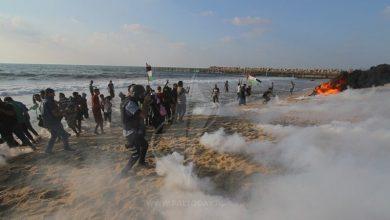 Photo of فلسطینیوں کے بحری مارچ پر اسرائیلی فوج کی فائرنگ