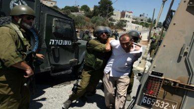 Photo of غرب اردن میں فلسطینیوں کی گرفتاری