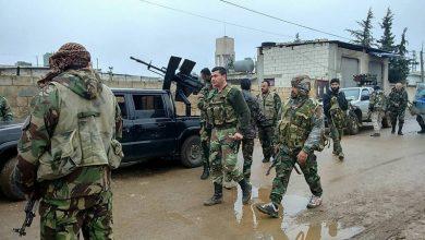 Photo of دہشت گردوں کے ٹھکانے پر شامی فوج کی شدید گولہ باری