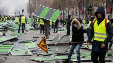 Photo of فرانس میں حالات کشیدہ، تعلیمی ادارے اور میٹرو بند