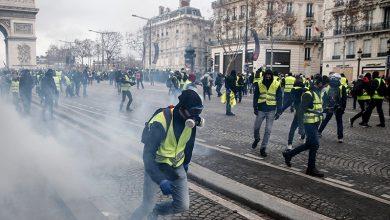 Photo of پیرس میدان جنگ، پرتشدد مظاہرے دکانیں اور کاریں نذرآتش