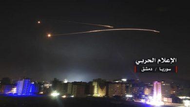 Photo of اسرائیلی جنگی طیاروں کا دمشق پر حملہ پسپا