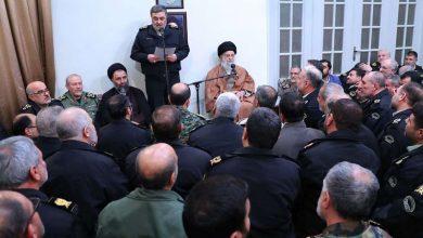 Photo of پولیس کمانڈروں اور افسروں کی رہبر انقلاب اسلامی سے ملاقات