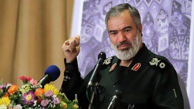 Photo of ایران دشمن کے مقابلے میں سربلند ہے:جنرل علی فدوی