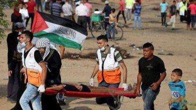 Photo of پرامن واپسی مارچ پر فائرنگ 43 فلسطینی زخمی