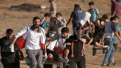 Photo of پرامن واپسی مارچ پر وحشیانہ حملہ، ایک فلسطینی شہید 43 زخمی