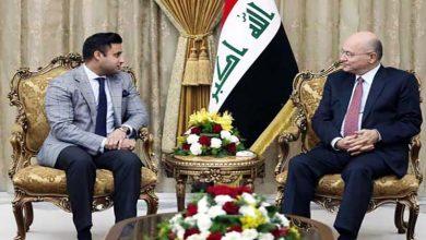 Photo of عراقی صدر سے پاکستانی وزیراعظم کے مشیر کی ملاقات