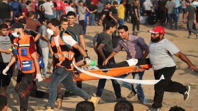 Photo of پرامن واپسی مارچ پر وحشیانہ حملہ، ایک فلسطینی شہید 185 زخمی