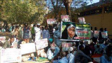 Photo of مرضیہ ہاشمی کی گرفتاری کے خلاف برطانیہ اور نائجیریا میں احتجاج