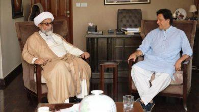 Photo of پاکستان: وزیراعظم عمران خان سے علامہ ناصرعباس کی ملاقات،مختلف مسائل پرگفتگو