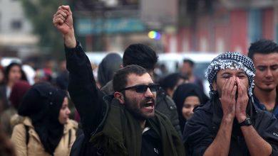 Photo of ترکی کی دھمکیوں کی مذمت میں شام میں وسیع احتجاجی اجتماع