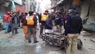 Photo of پشاور میں دھماکہ، متعدد زخمی