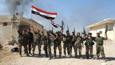 Photo of حماہ اورادلب میں دہشت گردوں کے ٹھکانوں پر بمباری