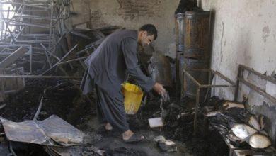 Photo of امریکی فوج نے افغانستان کے ایک دینی مدرسے کو آگ لگا دی