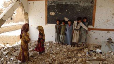 Photo of مغربی یمن میں ایک اسکول پر سعودی اتحاد کی بمباری
