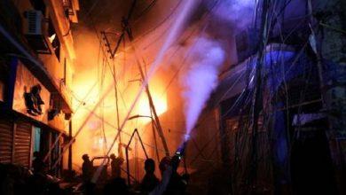 Photo of بنگلادیش: عمارت میں آگ لگنے سے 110 افراد جاں بحق و زخمی