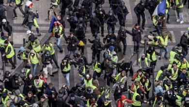 Photo of فرانس میں مظاہرے 15 گرفتار
