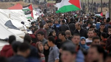 Photo of پرامن واپسی مارچ پر وحشیانہ حملہ 20 فلسطینی زخمی