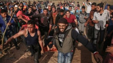 Photo of پرامن واپسی مارچ پر وحشیانہ حملہ، ایک فلسطینی شہید 41 زخمی