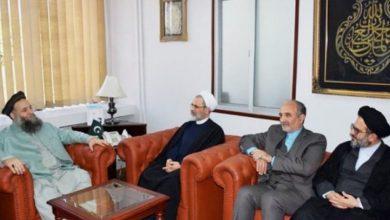 Photo of پاکستان کے وزیر مذہبی امور اور ایران کے دینی مدارس کے سربراہ کی ملاقات