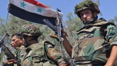 Photo of دہشت گردوں کے خلاف شامی فوج کی زبردست کارروائی