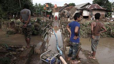 Photo of انڈونیشیا میں سیلاب 50 ہلاک 100 لاپتہ