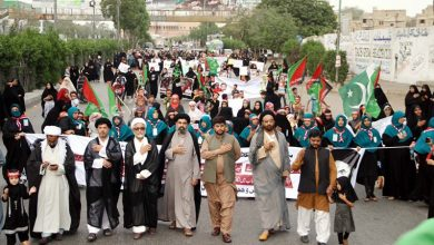 Photo of مسلمانوں کی ٹارگٹ کلنگ کے خلاف احتجاجی ریلیاں