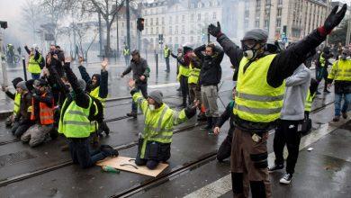 Photo of فرانس میں احتجاج جاری 50 مظاہرین گرفتار