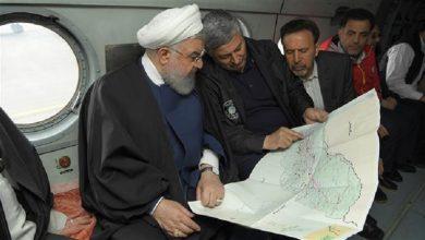 Photo of صدر ایران سیلاب سے متاثرہ علاقوں میں پہنچ گئے