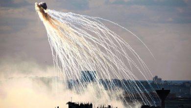 Photo of شام میں امریکی جنگی طیاروں کا فاسفورس بموں سے حملہ