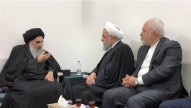 Photo of آیت اللہ العظمی سیستانی سے صدر روحانی کی ملاقات