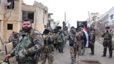 Photo of دہشت گردوں کے ٹھکانوں پر شامی فوج کا حملہ