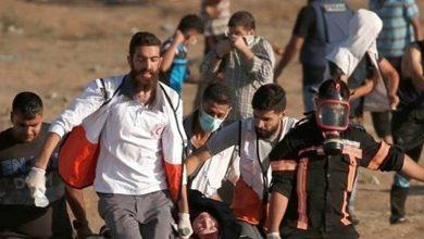 Photo of پرامن واپسی مارچ پر وحشیانہ حملہ، 2 فلسطینی شہید، 30 زخمی