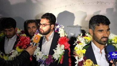 Photo of بازیاب ہونے والے سیکورٹی اہلکار ایران پہنچ گئے