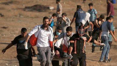 Photo of پرامن واپسی مارچ پر وحشیانہ حملہ، ایک فلسطینی شہید، 50 زخمی
