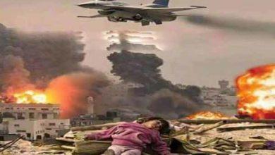 Photo of صنعا پرسعودی عرب کے جنگی طیاروں کی وحشیانہ اور مجرمانہ بمباری
