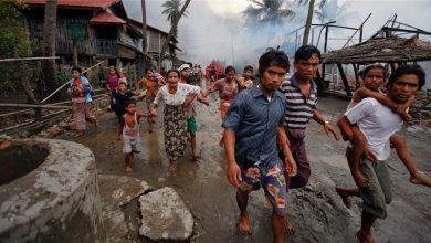 Photo of فوجی ہیلی کاپٹر سے بمباری 30 روہنگیائی مسلمان جاں بحق
