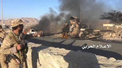 Photo of سعودی جارحیت کے جواب میں یمن فوج کی کارروائی ، 54 جارح فوجی ہلاک