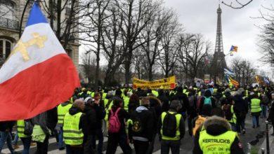 Photo of فرانس میں یلوجیکٹ مظاہرے بدستور جاری