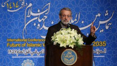 Photo of اسلامی ممالک تجارتی مواصلاتی نظام اور اسلامی عدالت قائم کریں، اسپیکر علی لاریجانی