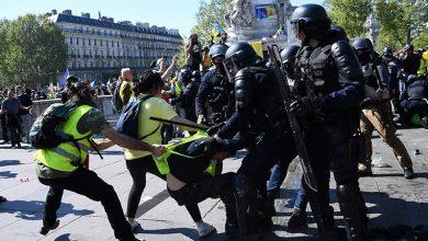 Photo of فرانس میں پیلی جیکٹ والوں کے مظاہرے جاری