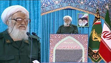 Photo of سپاہ کی یونیفارم میں حاضر ہوئے تہران کے امام جمعہ ۔
