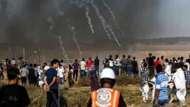 Photo of پرامن واپسی مارچ پر وحشیانہ حملہ 12 فلسطینی زخمی