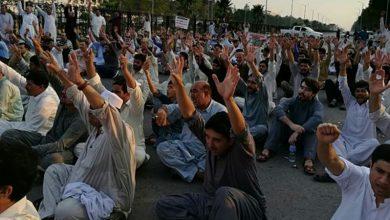 Photo of مطالبات پورے ہونے تک دھرنا جاری رکھنے کا اعلان