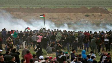 Photo of پرامن واپسی مارچ پر وحشیانہ حملہ 60 فلسطینی زخمی