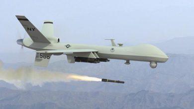 Photo of پاکستانی سرحد کے قریب افغان علاقے پر ڈرون حملہ